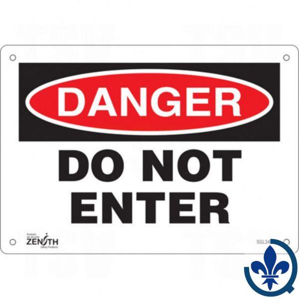 Enseigne-«Do-Not-Enter»-SGL342