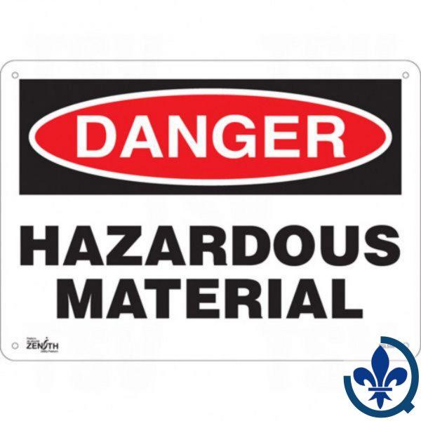 Enseigne-«Hazardous-Material»-SGL556