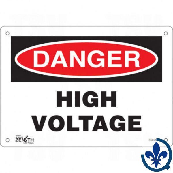 Enseigne-«High-Voltage»-SGL618