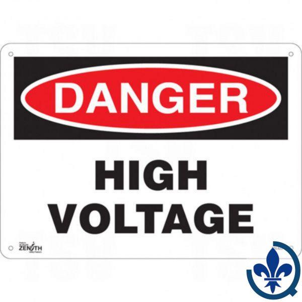 Enseigne-«High-Voltage»-SGL622