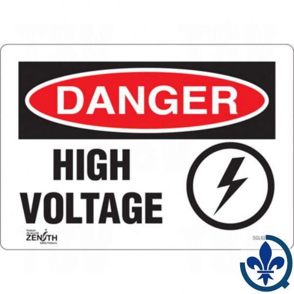 Enseigne-«High-Voltage»-SGL623