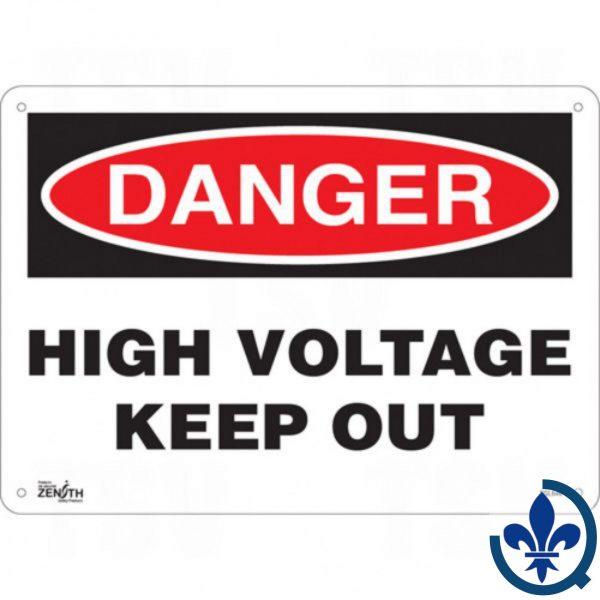 Enseigne-«High-Voltage-Keep-Out»-SGL646
