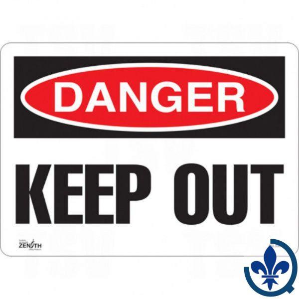Enseigne-«Keep-Out»-SGL356