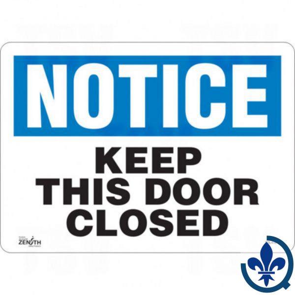 Enseigne-«Keep-This-Door-Closed»-SGL416
