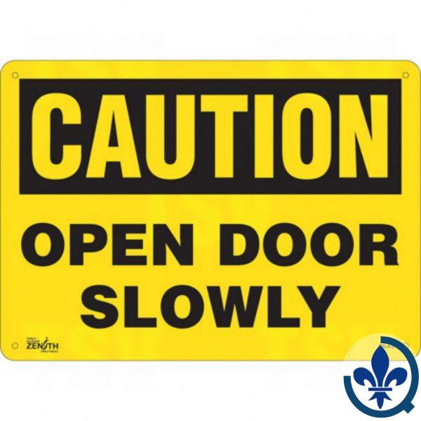 Enseigne-«Open-Door-Slowly»-SGL472