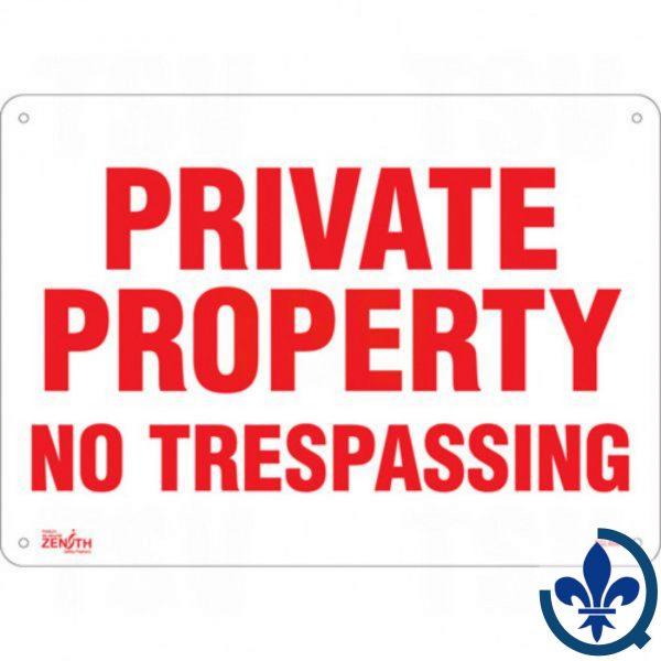 Enseigne-«Private-Property»-SGL466