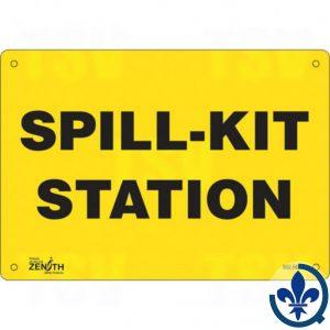 Enseigne-«Spill-Kit-Station»-SGL588