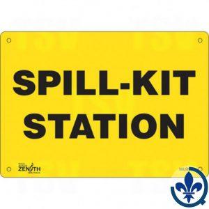 Enseigne-«Spill-Kit-Station»-SGL589