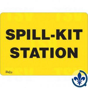 Enseigne-«Spill-Kit-Station»-SGL590