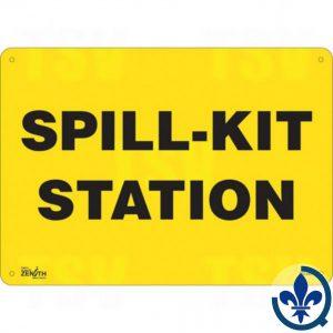 Enseigne-«Spill-Kit-Station»-SGL592